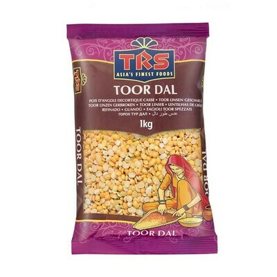 TRS TOOR DALL PLAIN 1KG