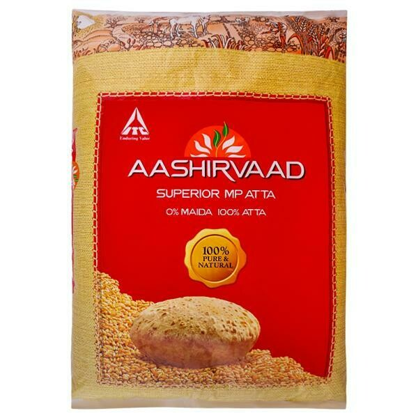 AASHIRVAAD ATTA Whole Wheat 10KG (EXPORT PACK)