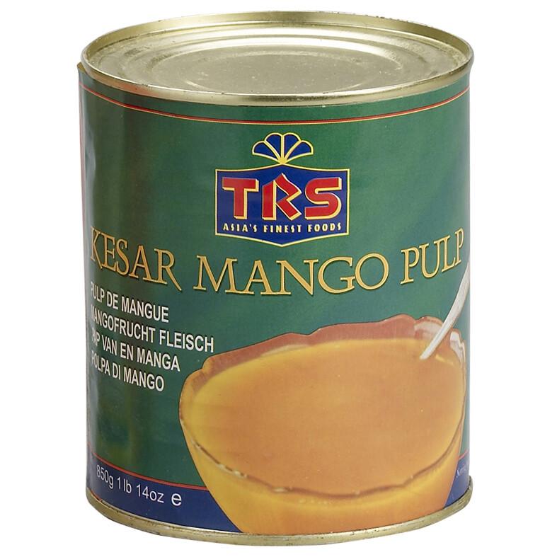 TRS CANNED MANGO PULP KESAR 850GM