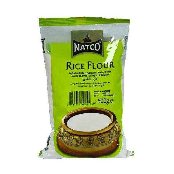 NATCO RICE FLOUR 500GM