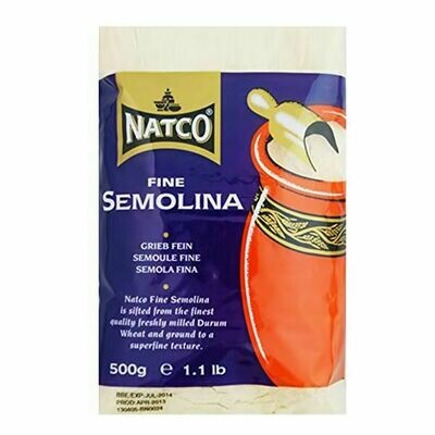 NATCO SEMOLINA FINE 500GM