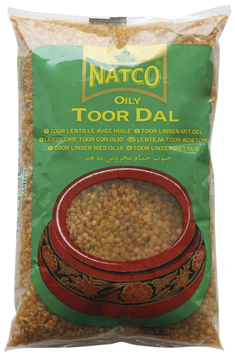 NATCO TOOR DALL OILY 500GM
