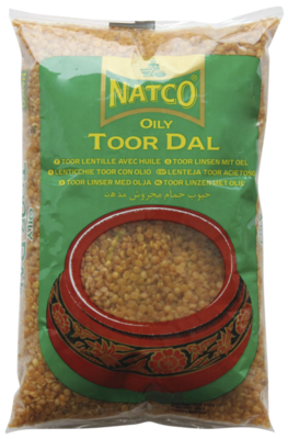 NATCO TOOR DALL OILY 500GM