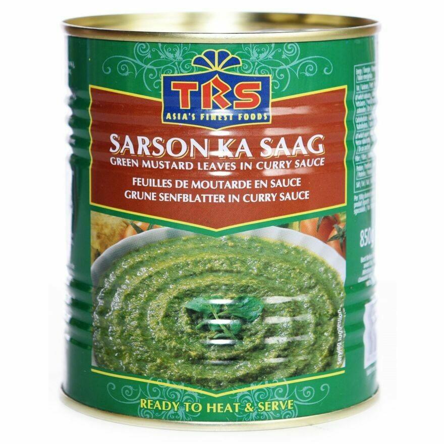 TRS CANNED SARSO KA SAAG 450GM