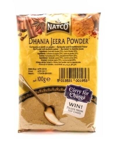 NATCO DHANIA-JEERA POWDER 100GM