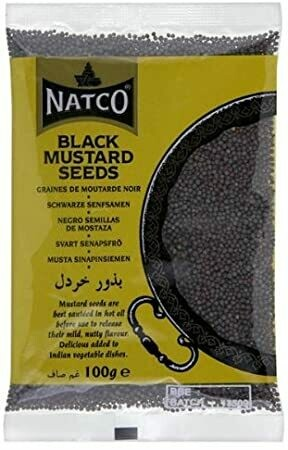 NATCO BLACK MUSTARD SEEDS 100GM