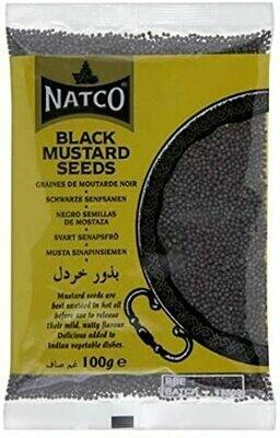 NATCO BLACK MUSTARD SEEDS 100GM