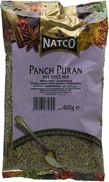 NATCO PANCH PURAN MASALA 400GM