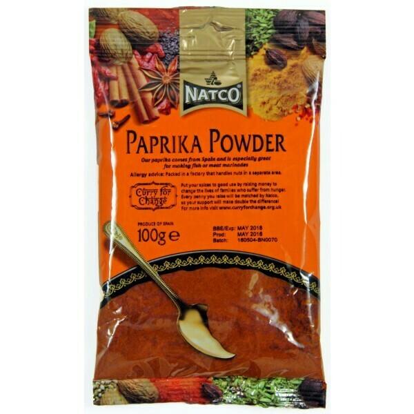 NATCO PAPRIKA POWDER 100GM