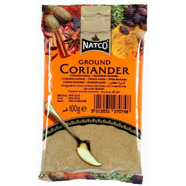 NATCO DHANIA POWDER 100GM