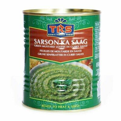 TRS CANNED SARSO KA SAAG 850GM