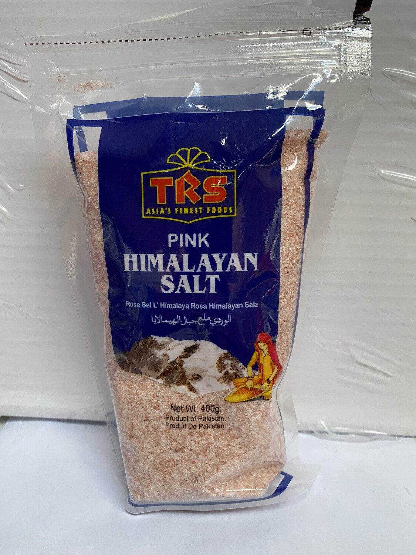 TRS PINK HIMALAYAN SALT 400GM
