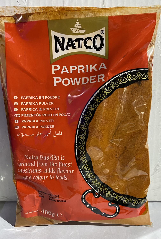 NATCO PAPRIKA POWDER 400GM