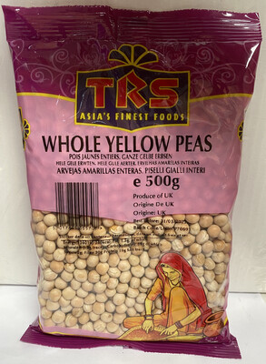TRS WHOLE YELLOW PEAS 500GM