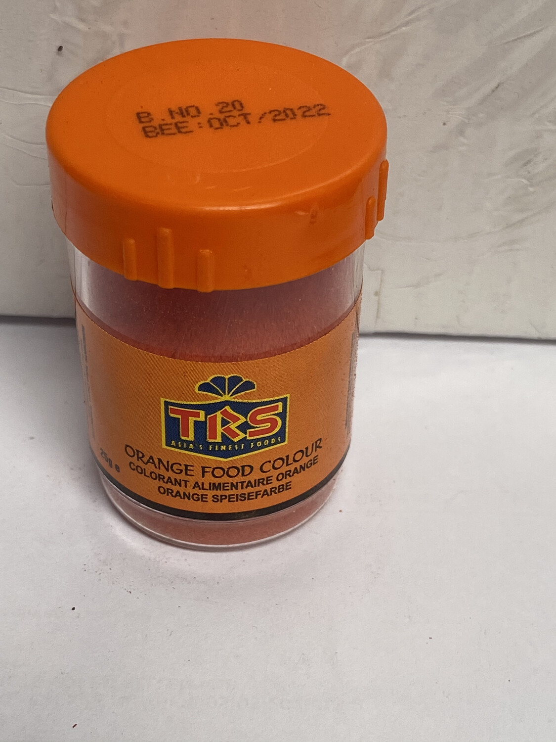 TRS ORANGE FOOD COLOR 25GM
