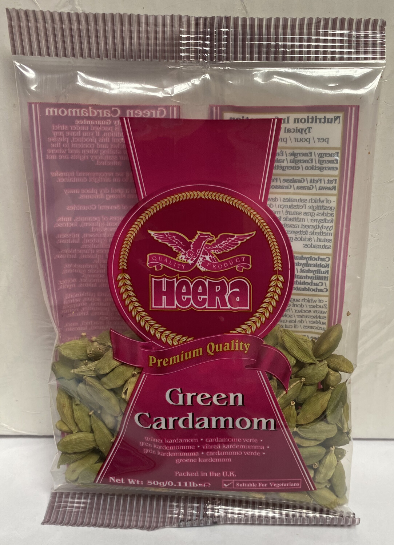 HEERA CARDAMOM GREEN 50GM
