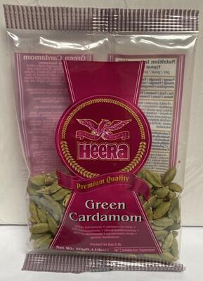 HEERA CARDOMOMS GREEN 50GM