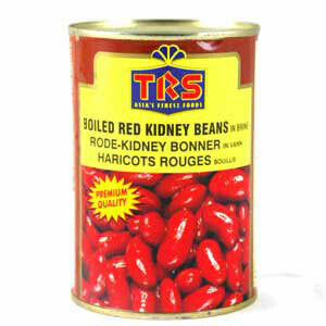 CANNED TRS RED KIDNEY BEANS 400GM