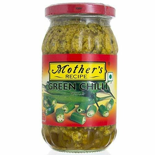 MOTHER'S CHILLI GREEN PICKLE 500GM