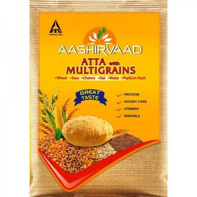AASHIRVAAD MULTIGRAINS ATTA 10KG (EXPORT PACK)