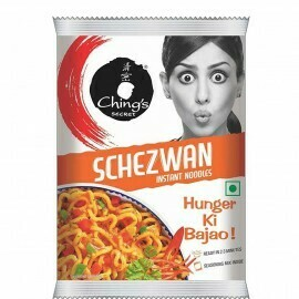 CHINGS INSTANT SCHEZWAN NOODLES 60GM