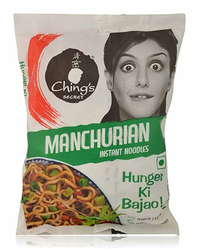 CHINGS INSTANT MANCHURIAN NOODLES 60GM