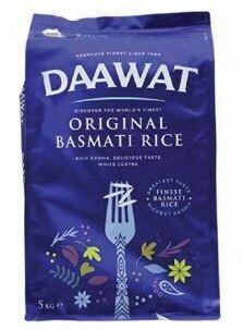 DAAWAT ORIGINAL BASMATI RICE 5KG