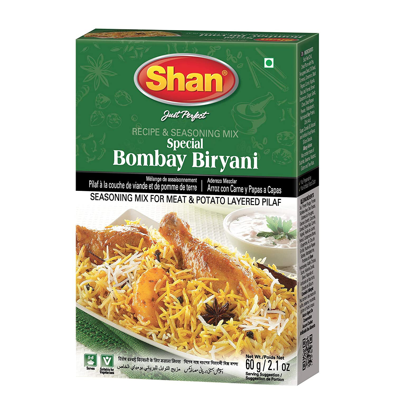 SHAN BOMBAY BIRYANI 60GM
