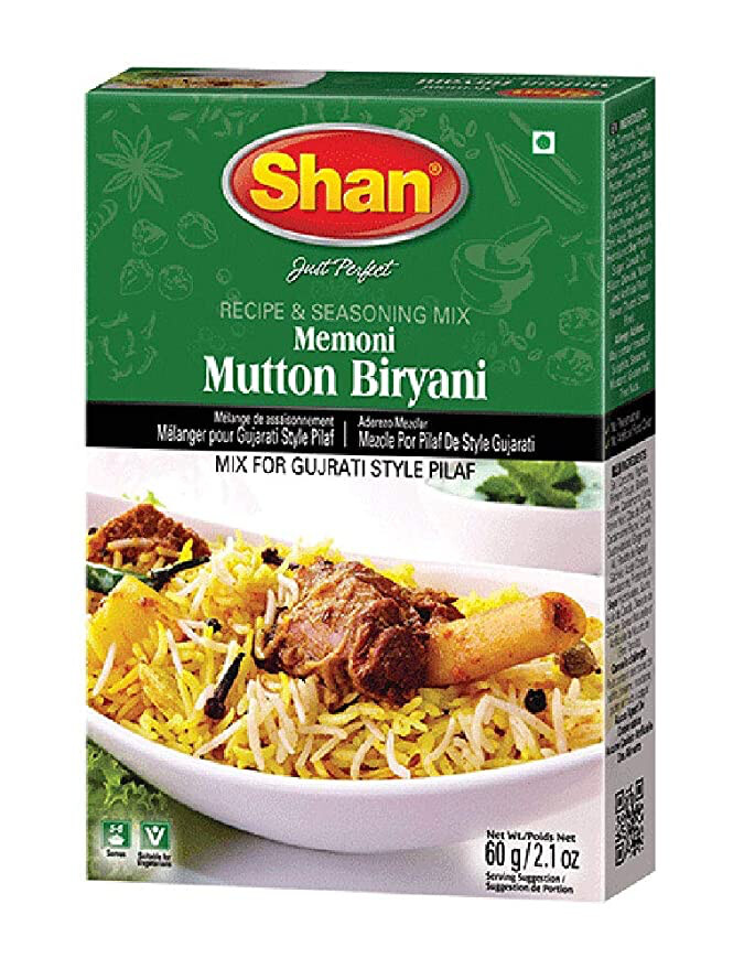 SHAN MUTTON BIRYANI MEMONI 60GM