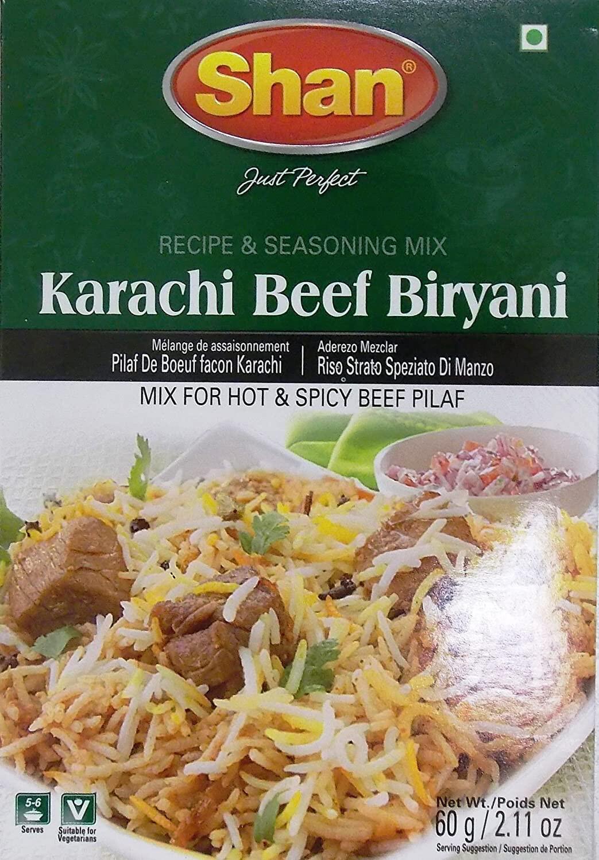 SHAN KARACHI BEEF BIRYANI 60GM
