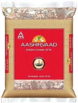 AASHIRVAAD WHOLE WHEAT ATTA 5KG (EXPORT PACK)