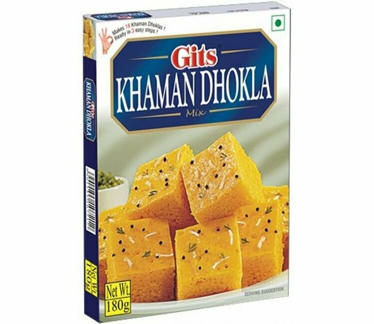 GITS KHAMAN DHOKLA MIX 180GM