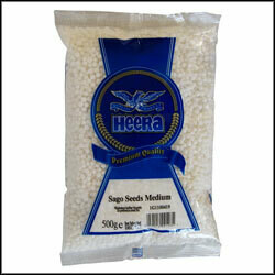 HEERA SABUDANA MEDIUM (SAGO SEEDS) 500GM
