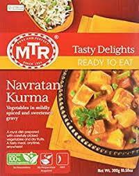 MTR READY TO EAT NAVRATNA KURMA