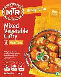 MTR READY TO EAT VEGETABLE CURRY MIX