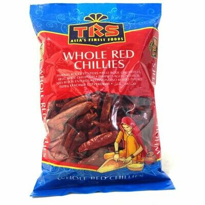 TRS  WHOLE RED CHILLIES 150GM