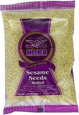 HEERA SESAME SEEDS HULLED 100GM