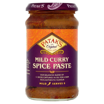 PATAK'S MILD CURRY SPICE PASTE 283GM