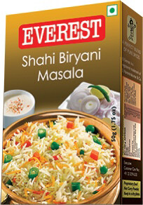 EVEREST SHAHI BIRYANI MASALA 50GM