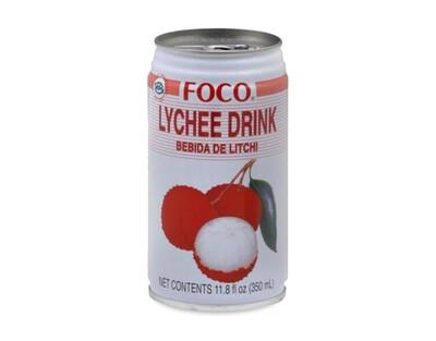 FOCO LYCHEE JUICE 350ML