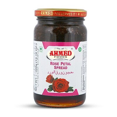 AHMED JAM ROSE PETAL 450GM