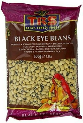 TRS BLACK EYE BEANS 500GM