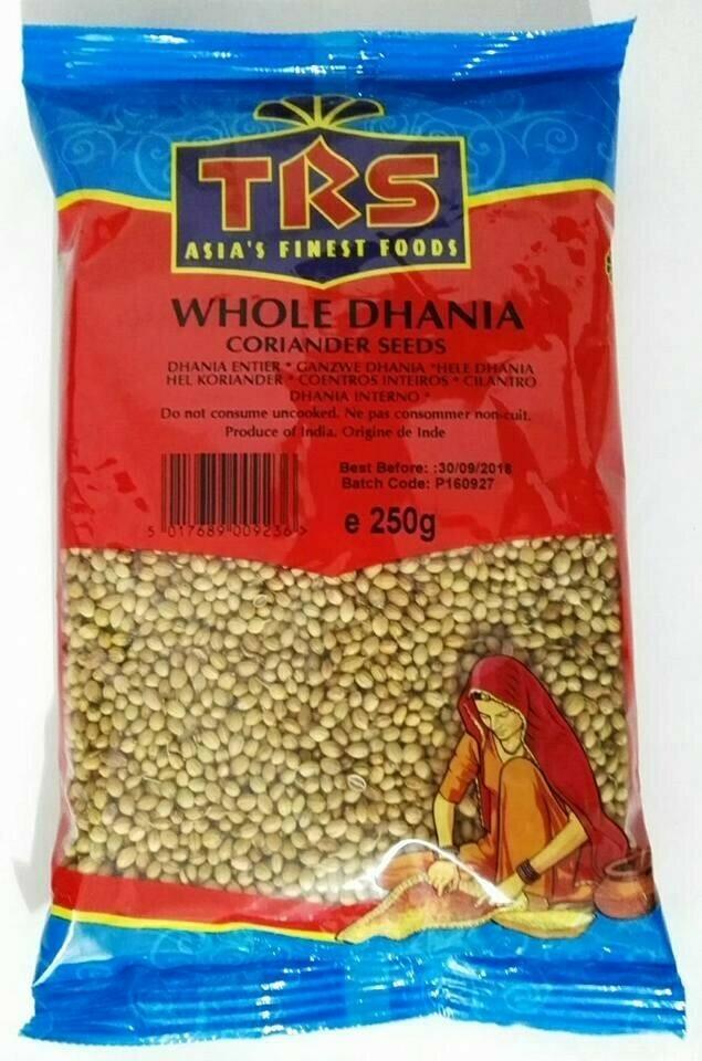 TRS DHANIA WHOLE INDORI 250GM