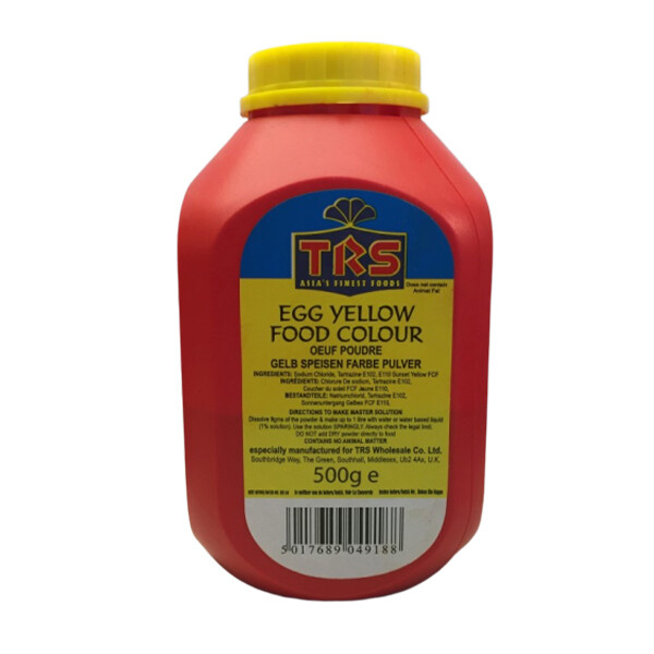 TRS EGG YELLOW FOOD COLOR 500GM
