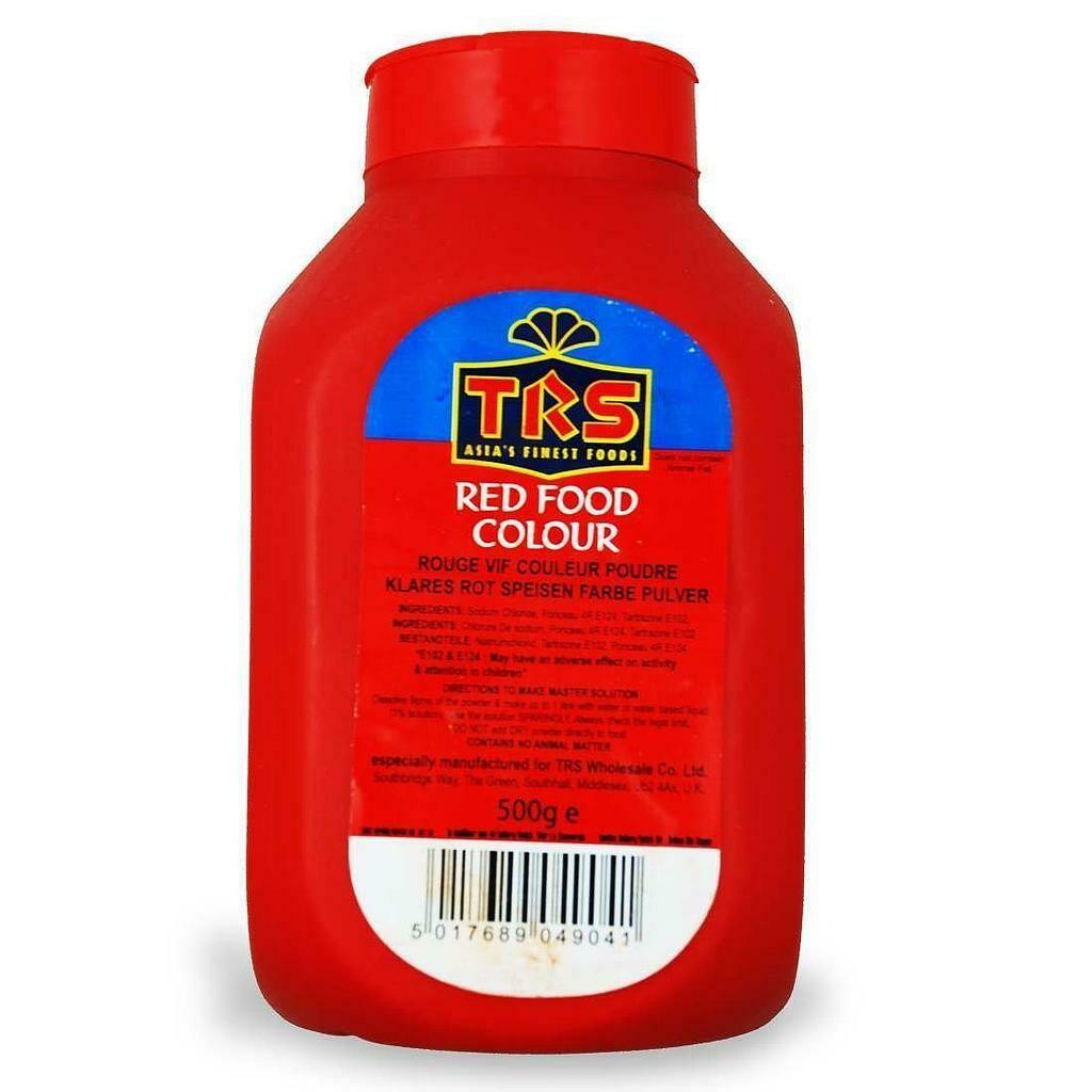 TRS RED FOOD COLOR 500GM