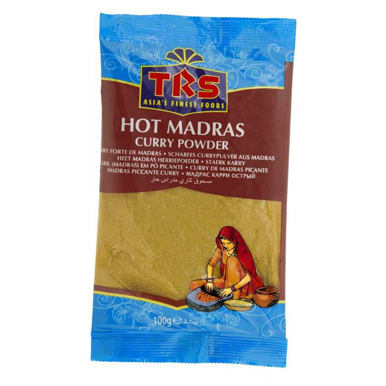 TRS MADRAS CURRY POWDER HOT 100GM