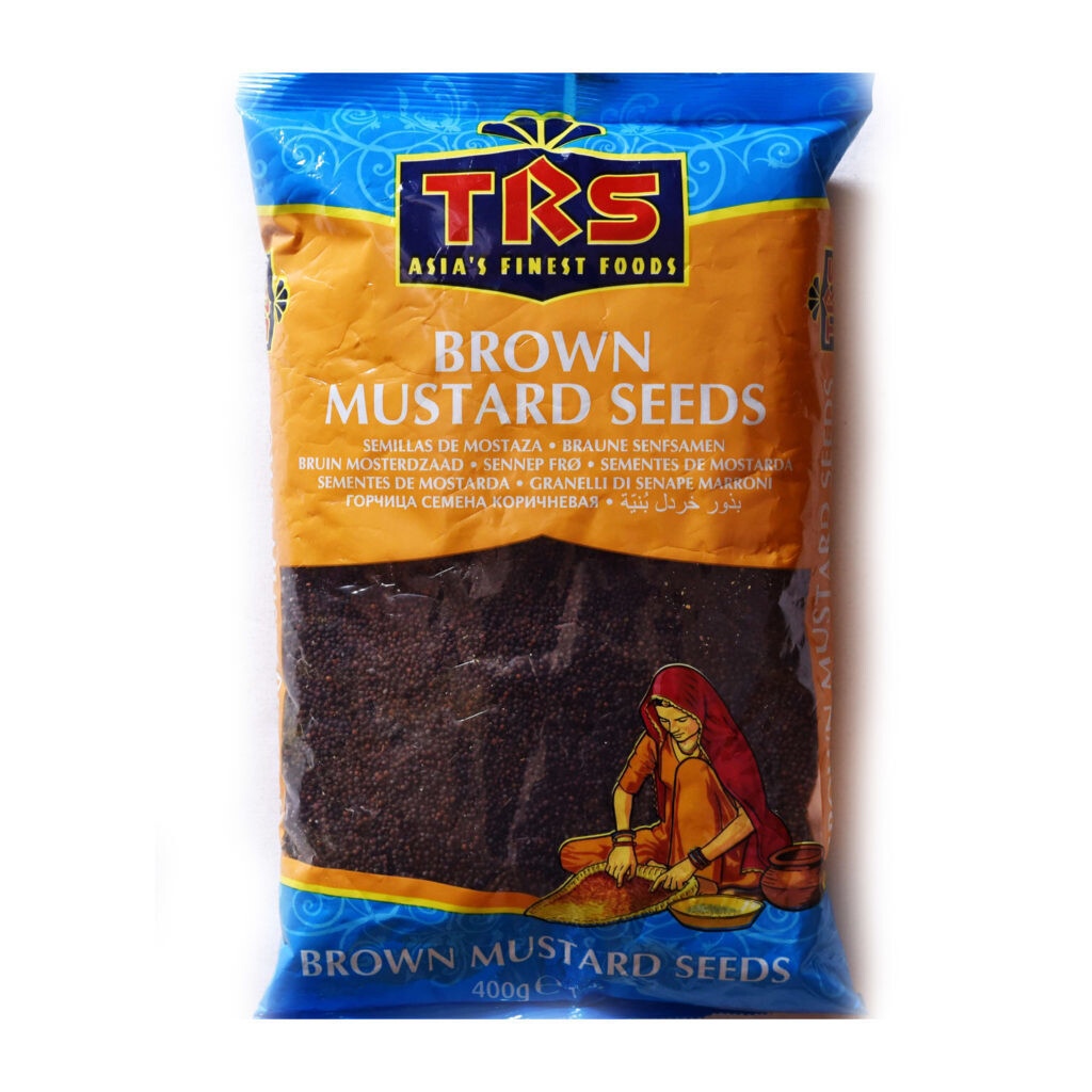 TRS BROWN MUSTARD SEEDS 400GM