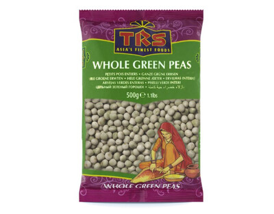 TRS WHOLE PEAS GREEN 500GM