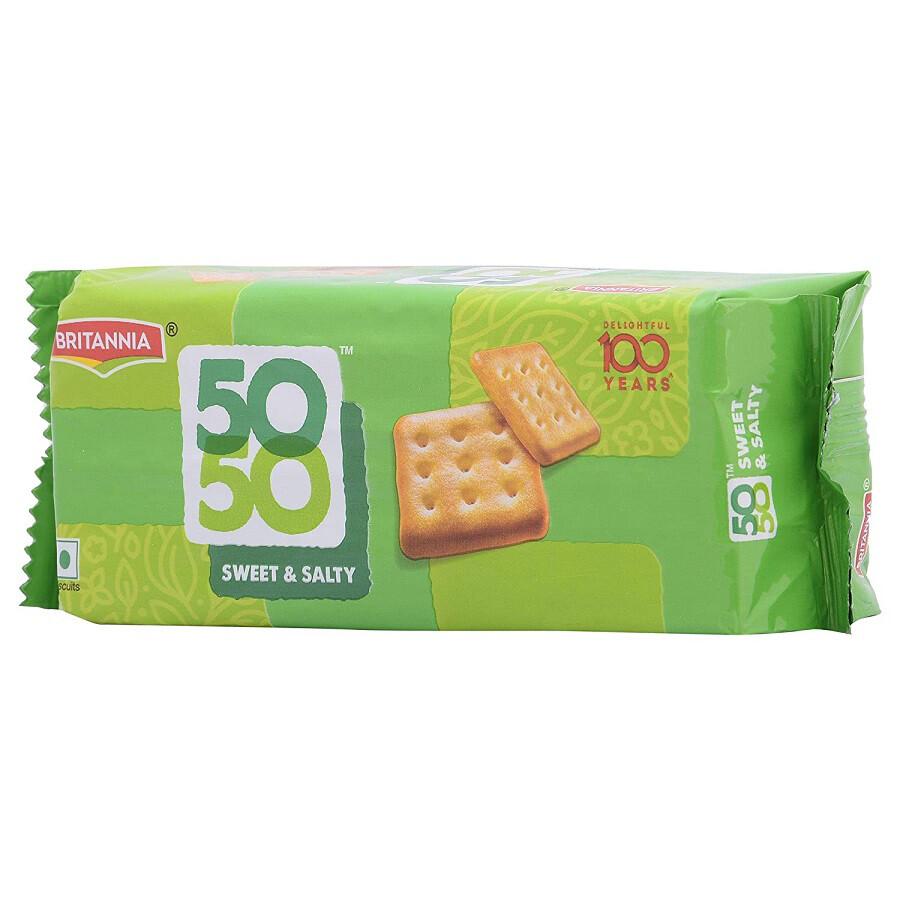 BRITANNIA 50-50 BISCUITS 62GM