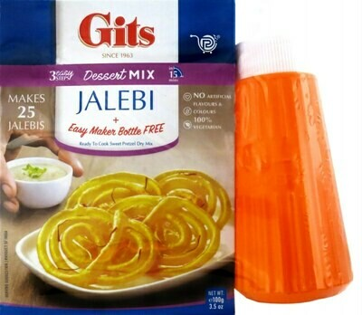 GITS JALEBI MIX WITH MAKER 100GM